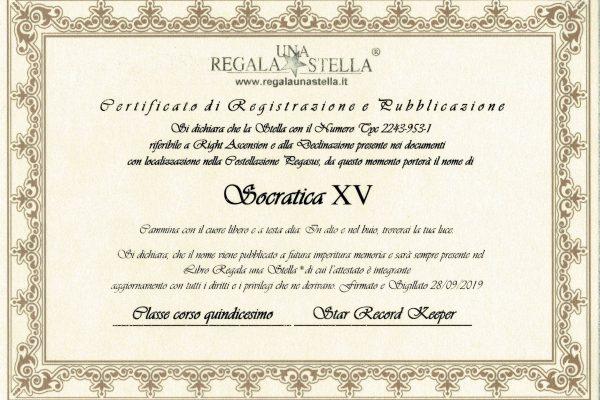 certificato stella